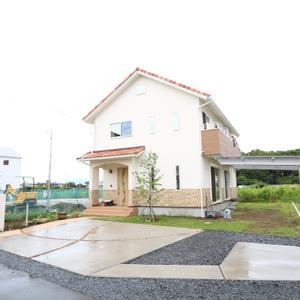 茨城県 つくば市 建物とマッチした素敵な外構