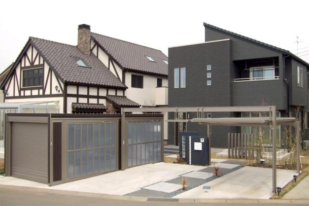 2012年LIXILエクステリアコンテスト『門まわり・車庫まわり部門』全国入選賞受賞
