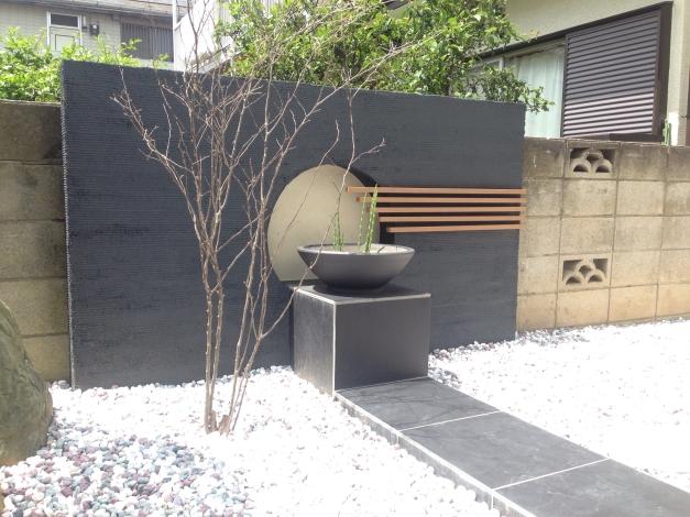 和風の庭�