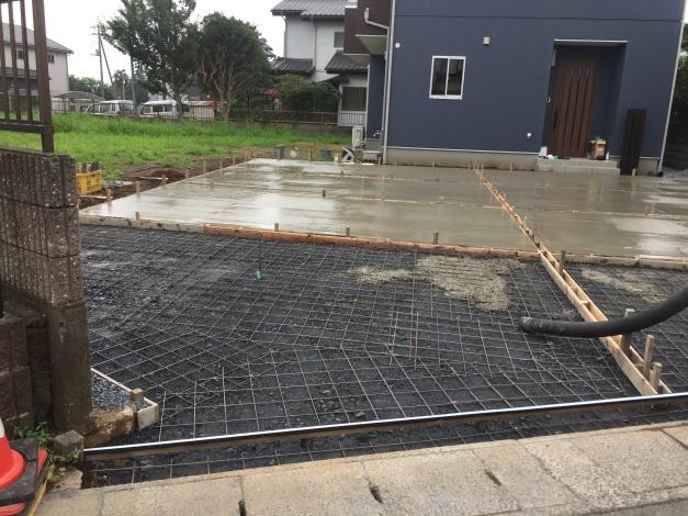 コンクリート打設工事 茨城県